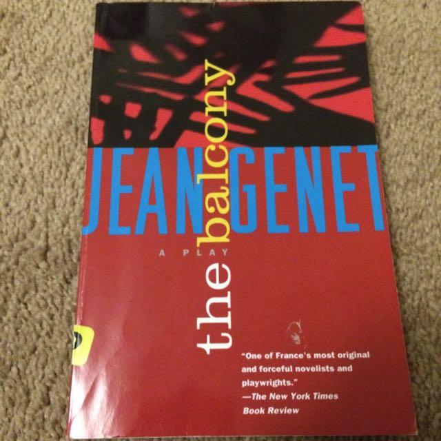 The Balcony By Jean Genet