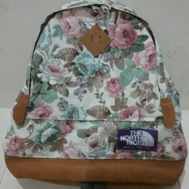 6ccf3ce91 THE NORTH FACE PURPLE LABEL Flower Print Medium Day Pack, Women's ...
