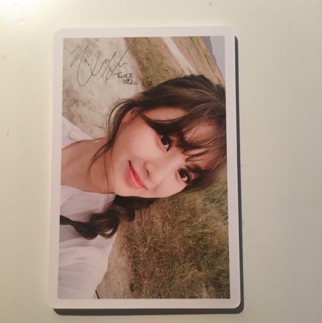 TWICE Limited Edition Photocard - Jihyo Ver
