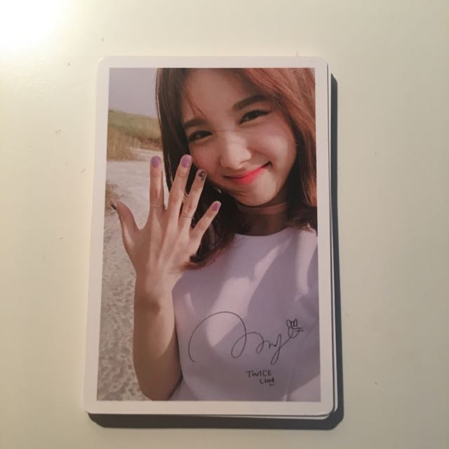 TWICE Limited Edition Photocard - Nayeon Ver