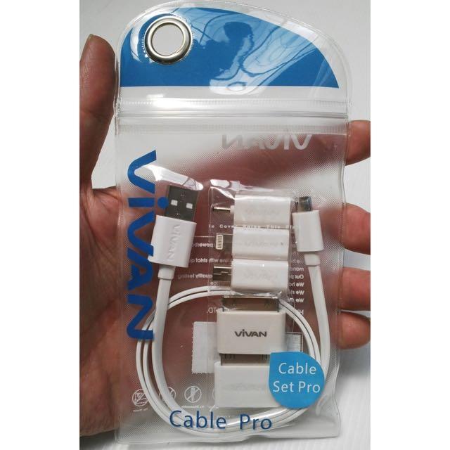 REPRICE | Vivan Cable Set