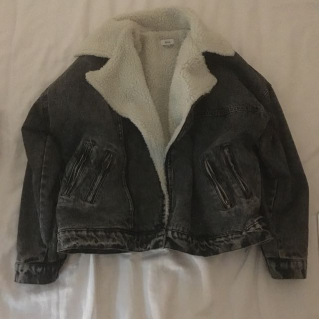 Wooly Denim Jacket