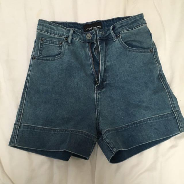 Ziggy Denim Super High Shorts