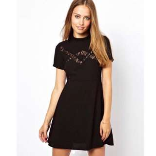 Jarlo London Lace Skater Dress