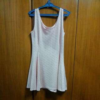 Peach Mini Dress