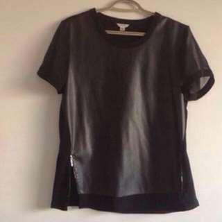 Calvin Klein leather top