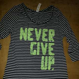 Lorna Jane Never Give Up Top