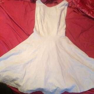 American Apparel Open Back Dress