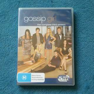 Gossip Girl Dvd Set Season 3