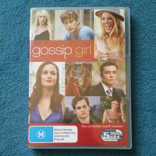 Gossip Girl Dvd Set Season 4