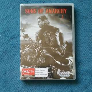 Sons Of Anarchy Dvd Set Season 1