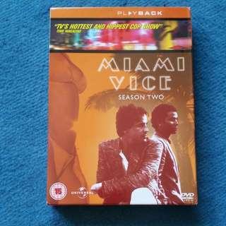 Miami Vice Dvd Set Season 2
