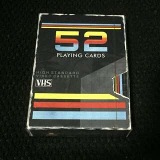 VHS Playing Cards - Classics Playing Cards
