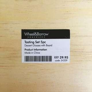 Wheel&Barrow Tasting Set