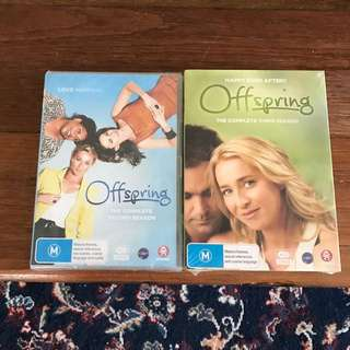 Offspring Seasons 2 & 3 DVDs