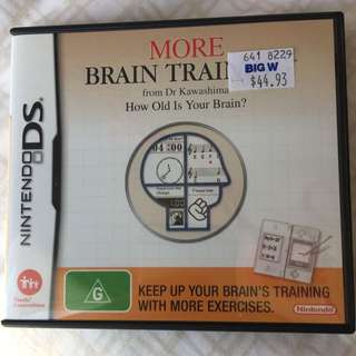 Nintendo DS More Brain Training