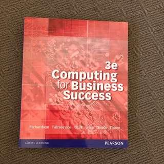 Computing For Business Success 3e