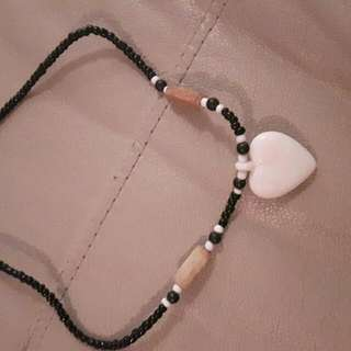 African Heart Necklace