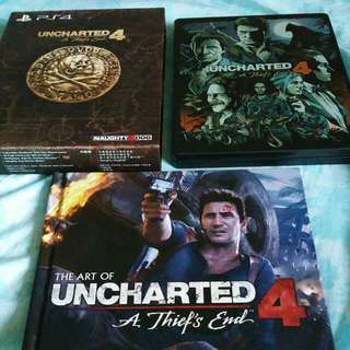 PS4 Unchartered 4 Special Edition