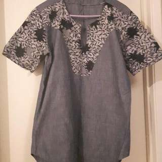 African Men's Casual Shirt