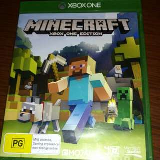 Xbox One Game; Minecraft