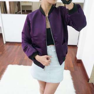 Bomber Purple