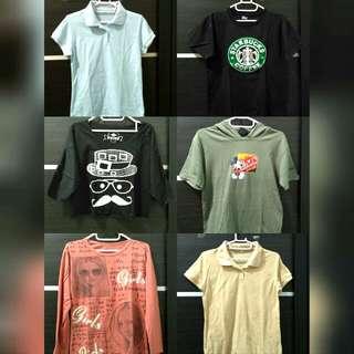 Beli 3 Item Gratis 1 Baju Di Atas