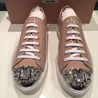 Miu Miu Jewel Toe Sneakers