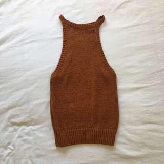 Bardot Knitted Top