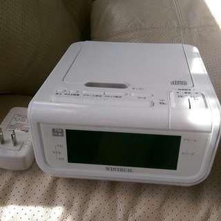 日本CD收音機桌上電子鬧鐘