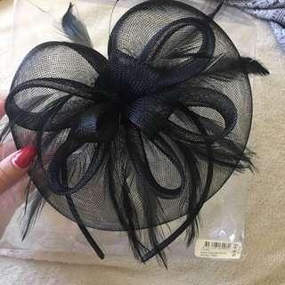Black Headband  Fascinator