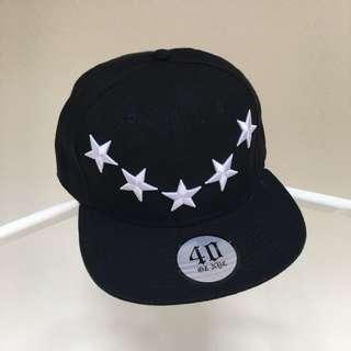 NEW SNAPBACK WHITE STARS