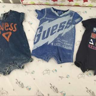 3 Guess baby bodysuit
