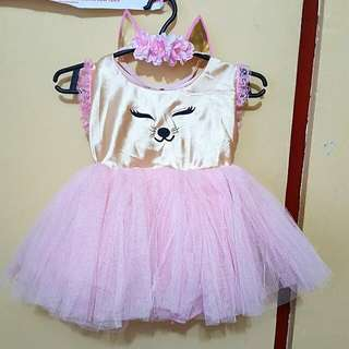 Baby Kitty/cat Gown