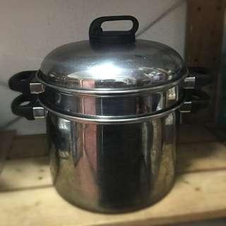 蒸锅。steamer pot