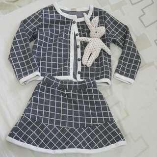 韓國小女孩套裝(約合3-6歲)
