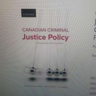 ISO Canadian Criminal Justice Policy