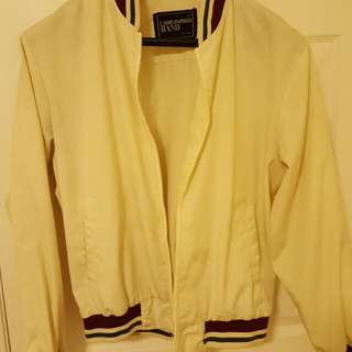 Christopher Rand White Bomber