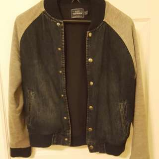 Topman Denim Bomber