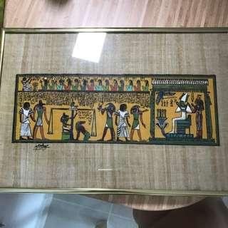 Egyptian Wall Deco