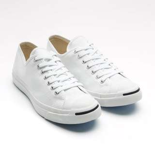 White Jack Purcell Converse