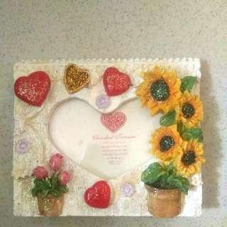 Flowery Photo Frame