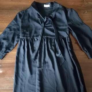 Pins And Needles Black Babydoll Dress