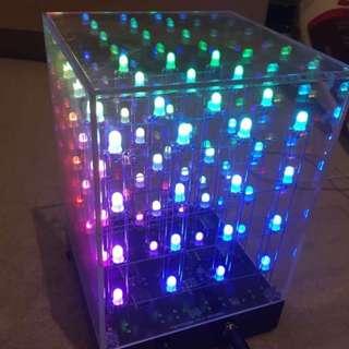 LED Multicoloured Hyponocube