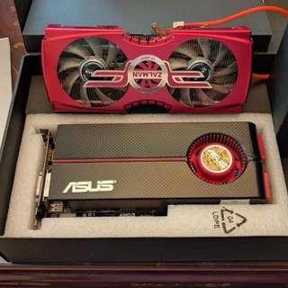 Asus Radeon ATI/AMD HD5850 (w/ Zalman VF-3000 Cooler)