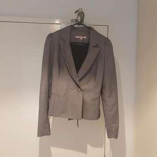 Review - Work wear - Grey Jacket - Size 8