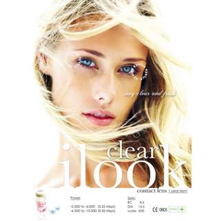 Softlens Ilook Clear