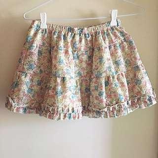 Ray Beams / XS-S / Mini Skirt