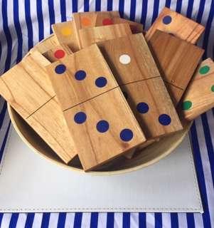 Giant Wooden Dominoes Hire