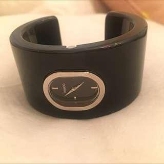 Women's Black Mimco Watch Bracelet